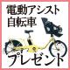 とっておきの電動アシスト自転車をプレゼント
