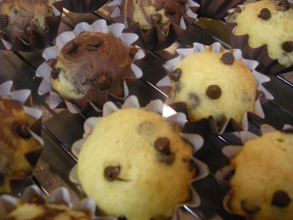 無印良品の手作りキットチョコチップマフィン・ボリュームパック(なんと20個作れます)