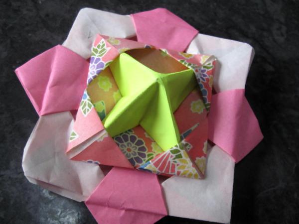 ハート 折り紙 こまの作り方 折り紙 : 39.benesse.ne.jp