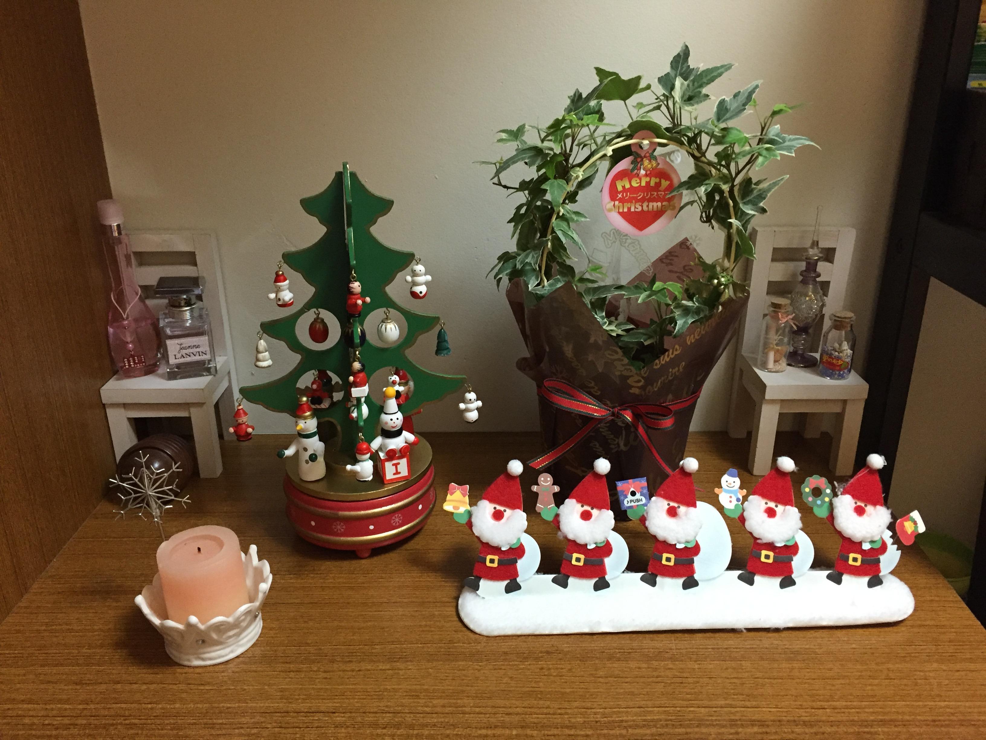 ニトリのクリスマスリース - おうちベーカリー!マスターへの道