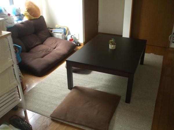 コジロー様専用☆無印良品☆楕円こたつ ローテーブル MUJI こたつ テーブル