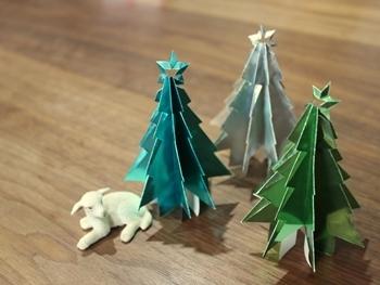 クリスマス 折り紙 折り紙 クリスマス オーナメント : 39.benesse.ne.jp
