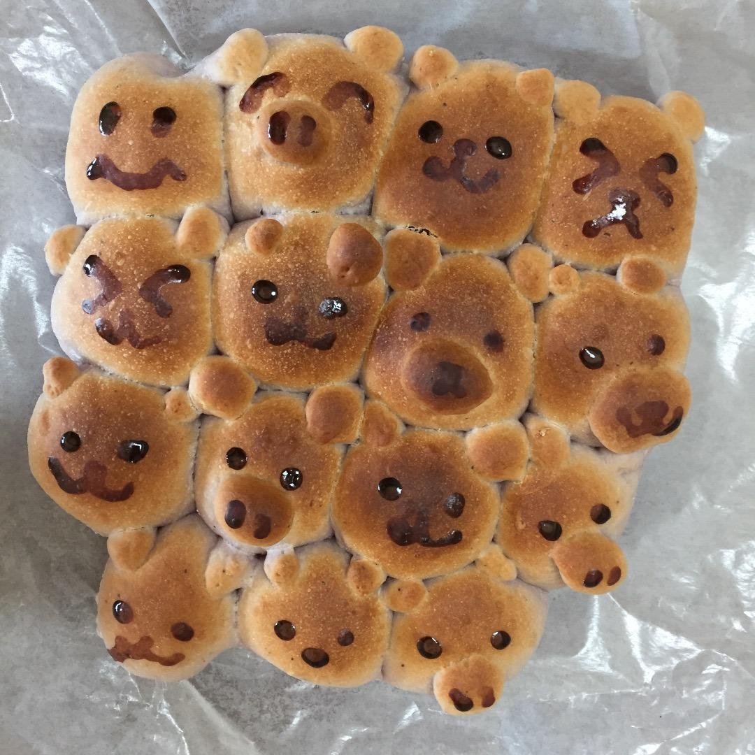 動物ちぎりパン さやかのmamalife サンキュ主婦ブログ 料理