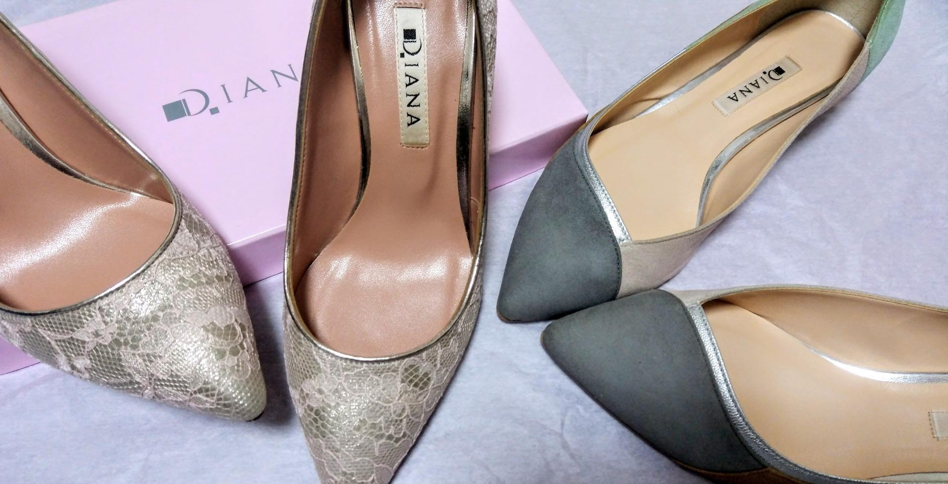 ダイアナの靴を二足買いました! 育児のことお出掛けのことなどなど