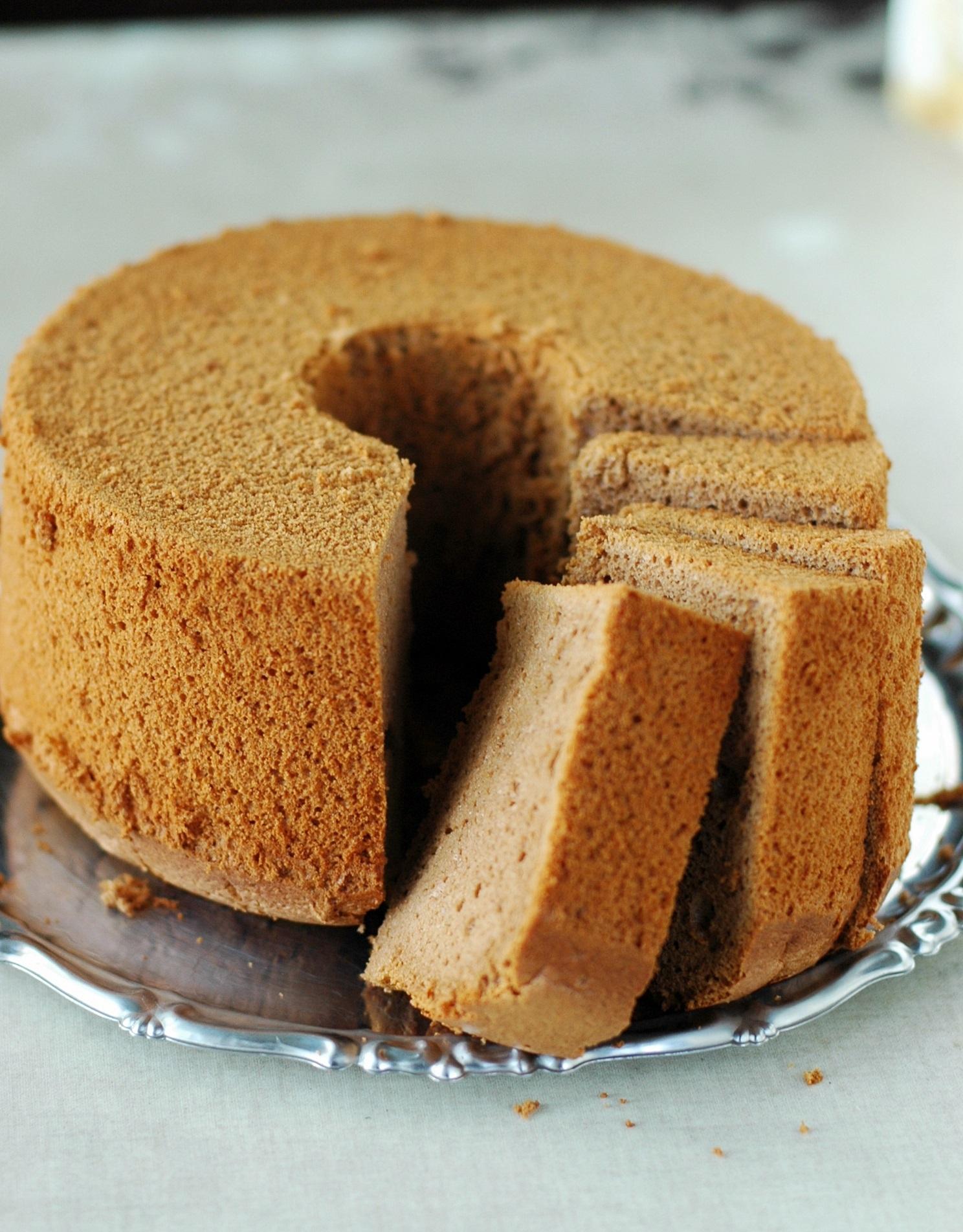 チョコ シフォン ケーキ