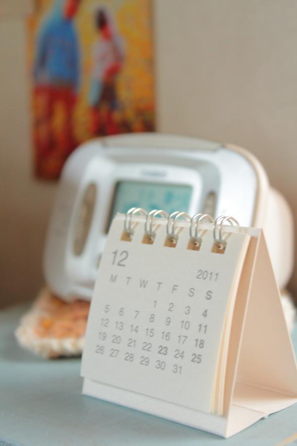 卓上カレンダー(ミニサイズ)