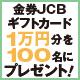 【1月号購読者限定】12月号&1月号購入者限定JCB金券